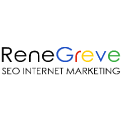 Logo bedrijf Rene Greve SEO Marketing